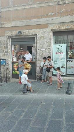 Pizza A Cono