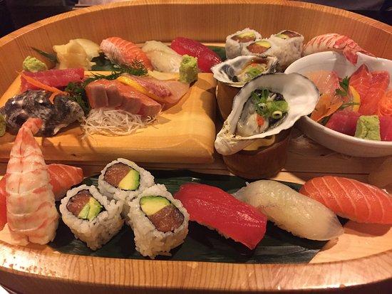 Medium sushi sashimi platter picture of kenzan japanese for Asian cuisine melbourne