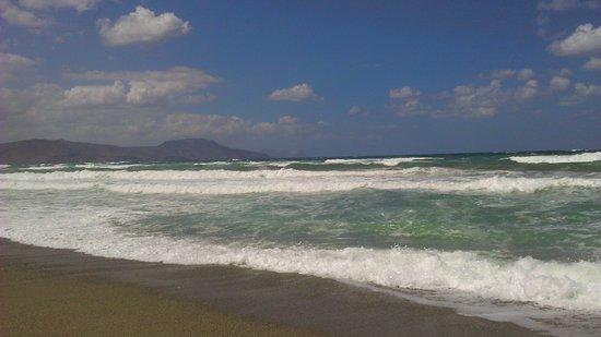 Episkopi, Grecia: Rough sea
