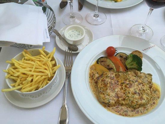 our drinks Picture of Restaurant Terrasse, Zurich