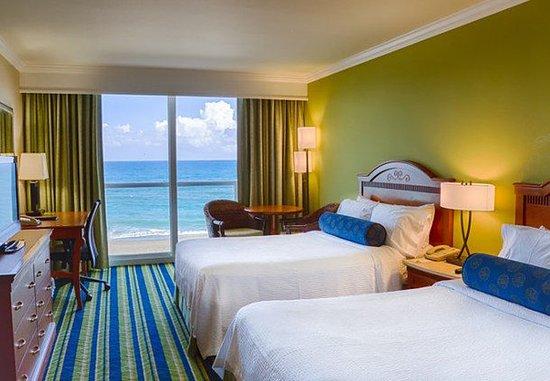 เจนเซน บีช, ฟลอริด้า: Double/Double Oceanfront Guest Room