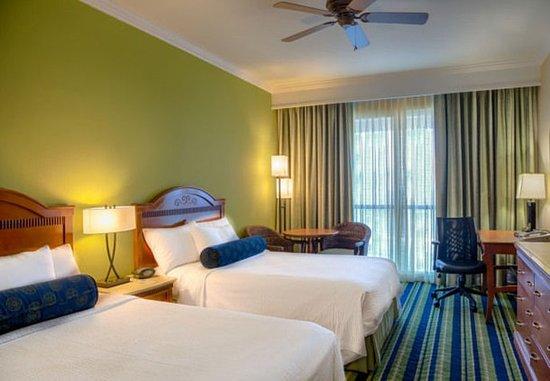 เจนเซน บีช, ฟลอริด้า: Double/Double Guest Room