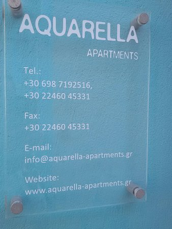 ‪‪Aquarella Apartments‬: Αquarella, Chalki‬
