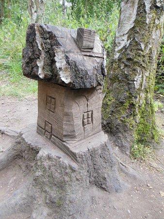 Nottinghamshire, UK: monumenti nel parco