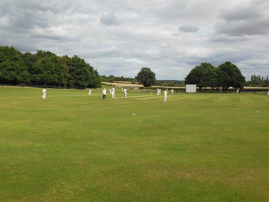 Nottinghamshire, UK: campo da cricket 
