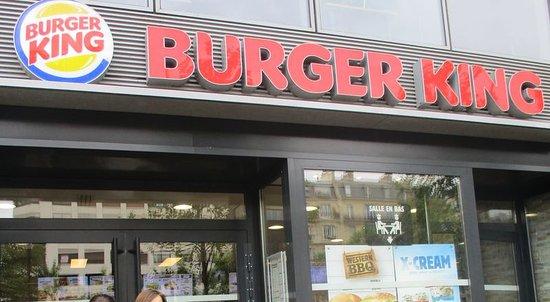 Neuilly-sur-Seine, France : Burger King Neuilly