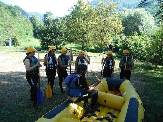 Vallo di Nera, Italië: Preparazione pre-immersione!