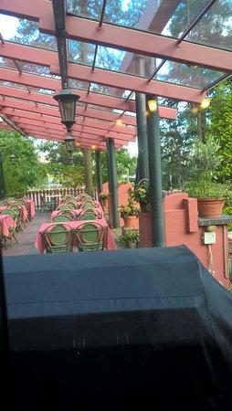 Kouvola, Finland: Терраса ресторана