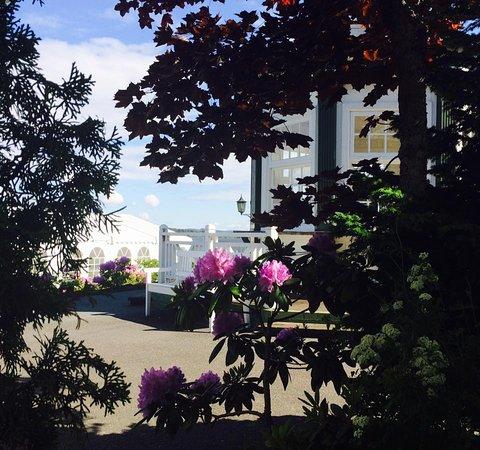 Vikersund, นอร์เวย์: Lysthus og terrasse