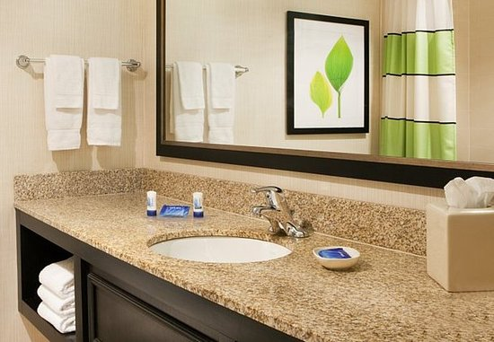 Fairfield Inn Bangor: Guest Bathroom