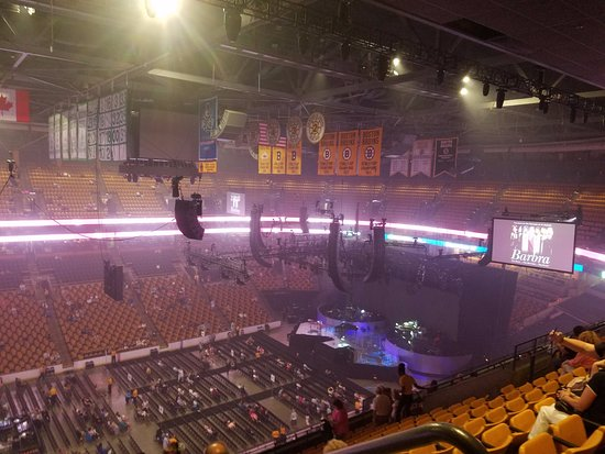 Marvelous TD Garden: Balcony Section 303 Row 13 Great Pictures