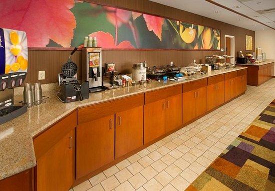 Marshall, Teksas: Breakfast Buffet