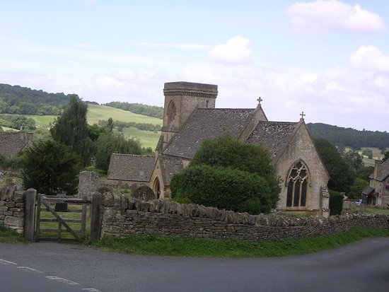 Charlbury, UK: Village Church, Snowshill