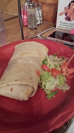 Casa Grande, AZ: Bean and Cheese Burrito