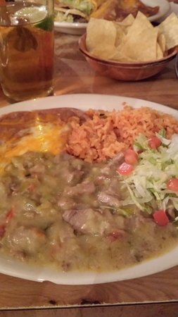 Casa Grande, Αριζόνα: No. 11 - Green Chile, Rice and Beans