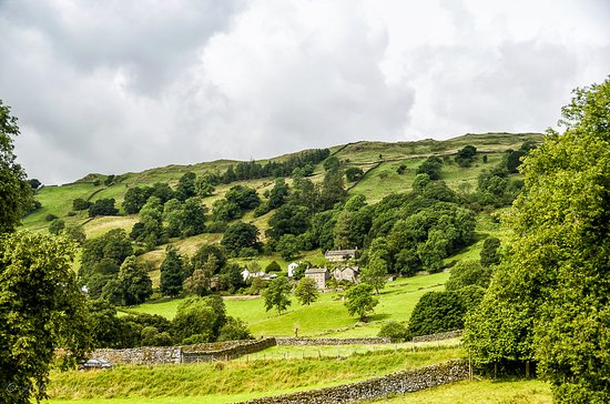 Troutbeck, UK: View from the lodge