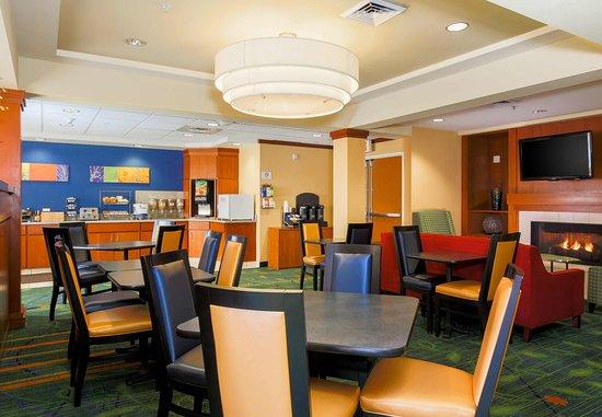 Sparks, NV: Breakfast Dining Area