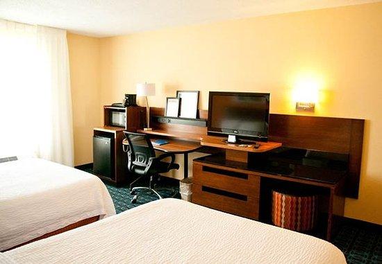 Ponca City, OK: Double/Double Guest Room