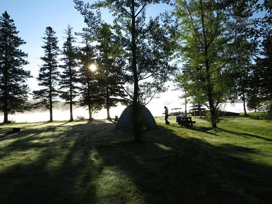 Northern Pride Lodge & Campground: Our Campsite