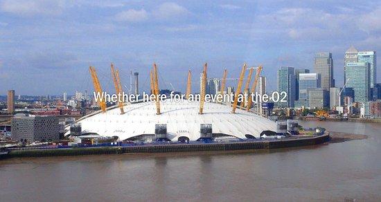 Hilton London Canary Wharf: O2 Arena