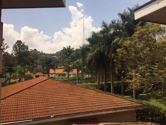Protea Hotel Kampala: View from Bathroom