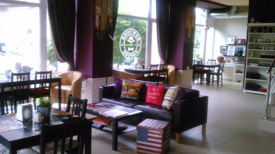 Bila Tserkva, Ucrania: New York Coffee зал