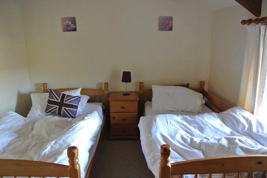 Cilhendre Fawr Farm Cottages: Eén van de slaapkamers