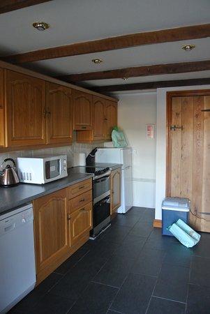 Cilhendre Fawr Farm Cottages: Keuken