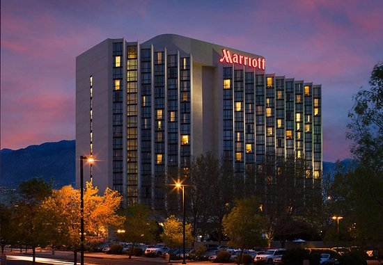 Albuquerque Marriott: Exterior