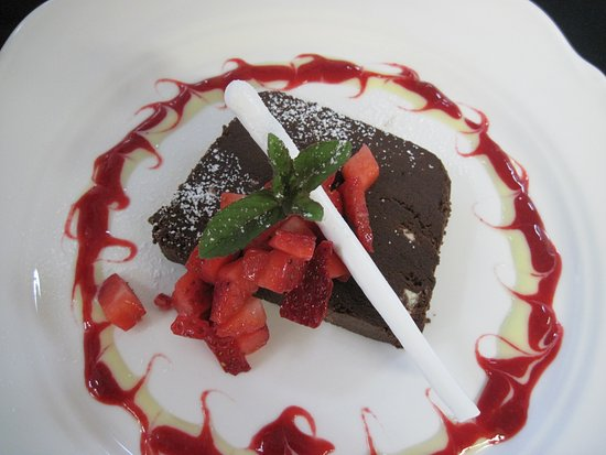 Churchill's Restaurant & Lounge: Triple ChocolateTerrine