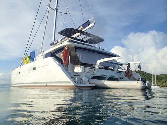 Le Marin, مارتينيك: il catamarano