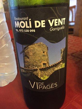 Гарригелья, Испания: Très bon vin de table