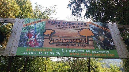 Haute-Savoie, France: Entrée parc