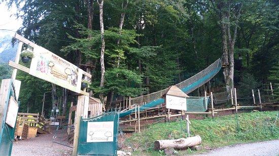 Haute-Savoie, Frankrike: entrée du parc