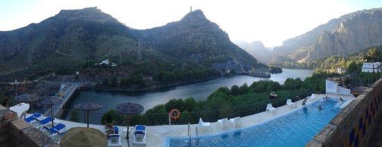 Алора, Испания: Vista da varanda do apartamento