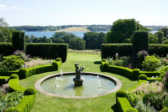 Hambleton, UK: View of the gardens
