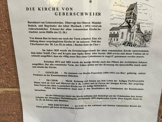 Gueberschwihr, Francia: History in german language