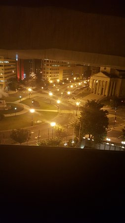 Night View From My Window Picture Of Washington Plaza Hotel