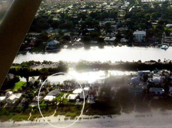 Nokomis, FL: Photo from a plane of Gulf Shores Resort!