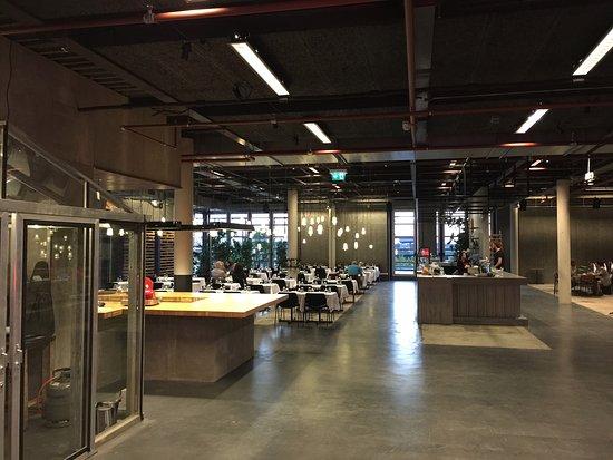 Industrieel ingericht ruim picture of restaurant bureau