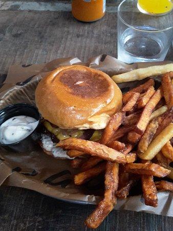 Lund, Suecia: Burger of the month August 2016