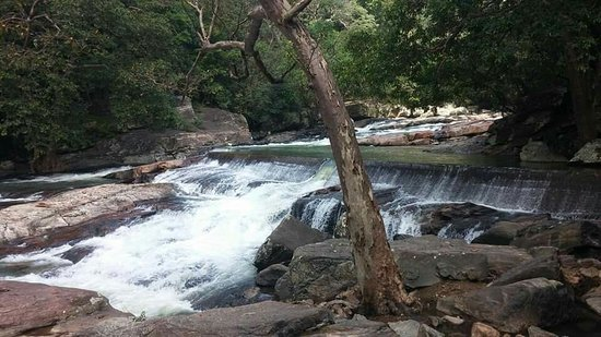 Rathna Ella waterfall: In and out of Rathna ella.