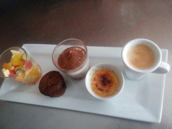 Bédarieux, Francia: Café gourmand maison