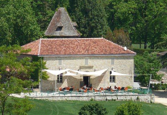 Castelnaud de Gratecambe, Francja: La Terrasse de La Suite