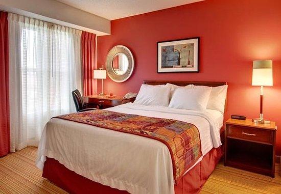 Grandville, Μίσιγκαν: One-Bedroom Suite Bedroom