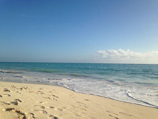 Plage le matin Photo de Grand Palladium Punta Cana Resort