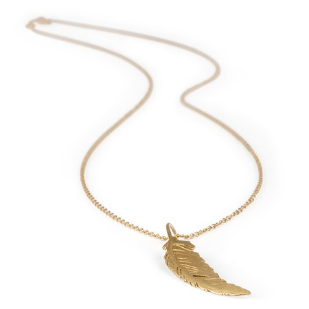 Greystones, Ierland: Gold feather