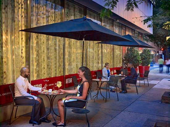 bars with outdoor seating Art Bar Outdoor Seating   Picture of Sonesta Philadelphia Downtown  bars with outdoor seating