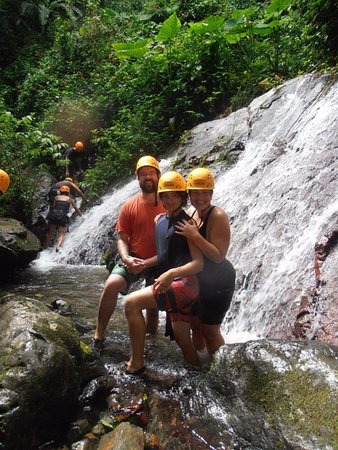 Rocaliza Adventure Tours: My family and me mid hike