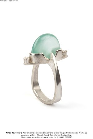 Greystones, Irlandia: Aquamarine ring